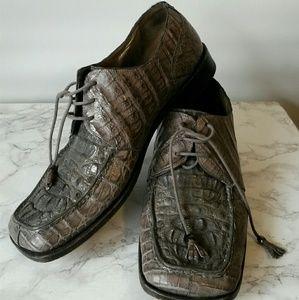 Mens mauri allegator shoes